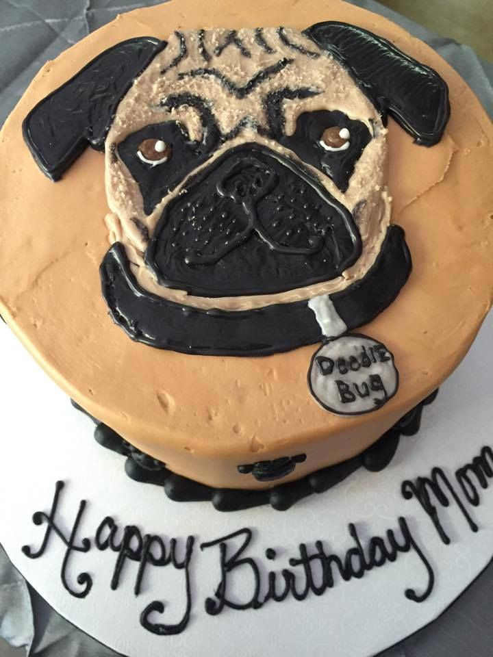 Best ideas about Pug Birthday Cake . Save or Pin Pug Birthday Cake Amys Apples Pinterest Now.