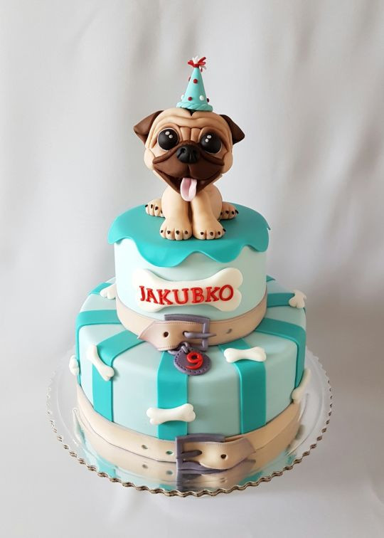 Best ideas about Pug Birthday Cake . Save or Pin Pug birthday cake cake by Katka CakesDecor Now.