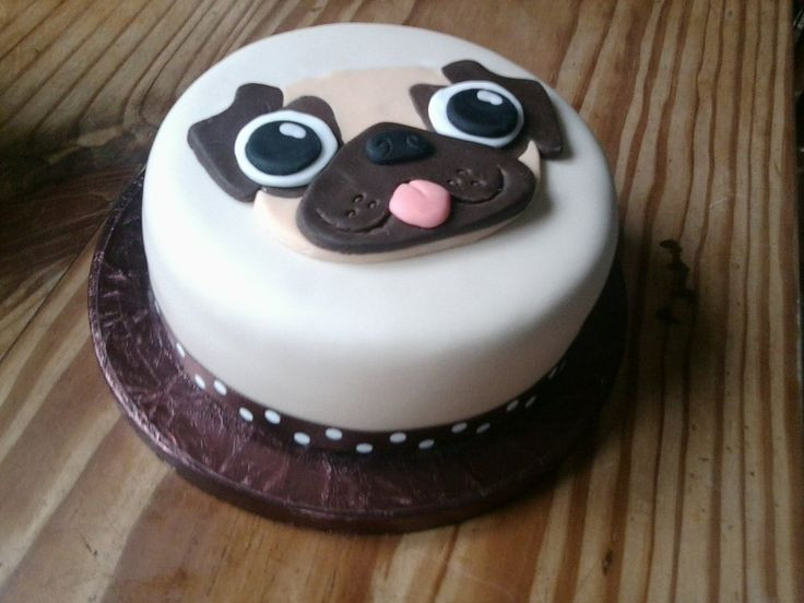 Best ideas about Pug Birthday Cake . Save or Pin Pug Cake by KaelenDarkheart on deviantART Now.