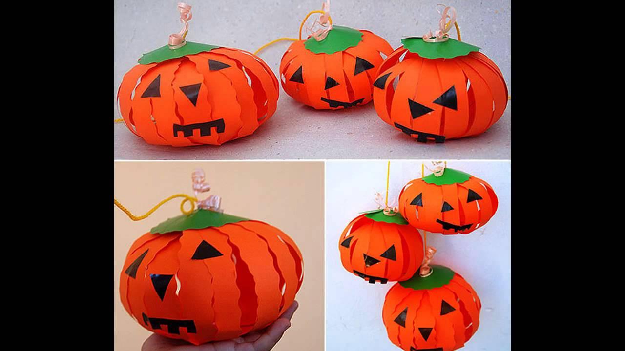 Best ideas about Pumpkin Craft Ideas . Save or Pin Pumpkin paper crafts ideas Now.