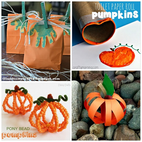 Best ideas about Pumpkin Craft Ideas . Save or Pin Easy Pumpkin Crafts for Kids to Make this Fall Crafty Now.