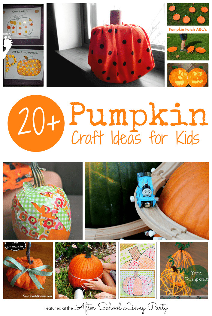 Best ideas about Pumpkin Craft Ideas . Save or Pin 20 Pumpkin Craft Ideas for Kids The Educators Spin It Now.