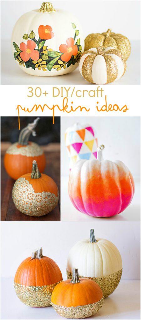 Best ideas about Pumpkin Craft Ideas . Save or Pin diy craft pumpkin ideas Now.