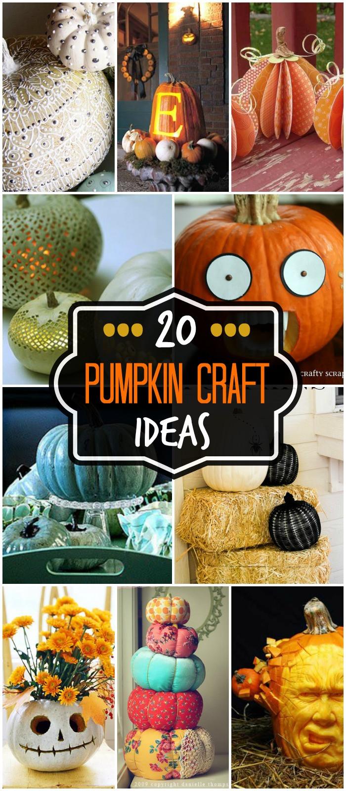 Best ideas about Pumpkin Craft Ideas . Save or Pin Pumpkin Creations Now.