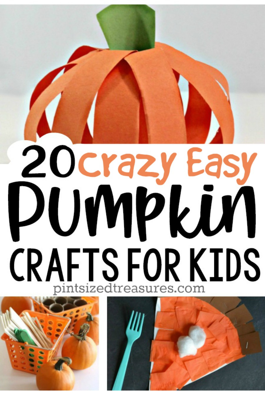 Best ideas about Pumpkin Craft Ideas . Save or Pin easy pumpkin decorating for kids Now.