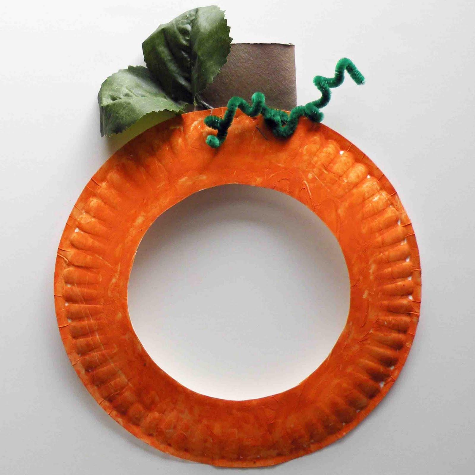 Best ideas about Pumpkin Craft Ideas . Save or Pin Be Brave Keep Going Pumpkin Paper Plate Craft For Kids Now.