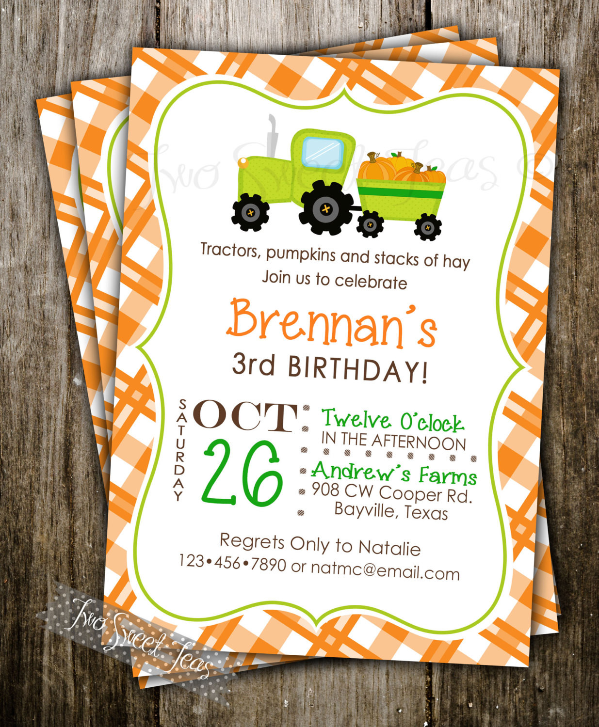 Best ideas about Pumpkin Patch Birthday Party . Save or Pin Pumpkin Patch Invitation Birthday Party Halloween by Now.
