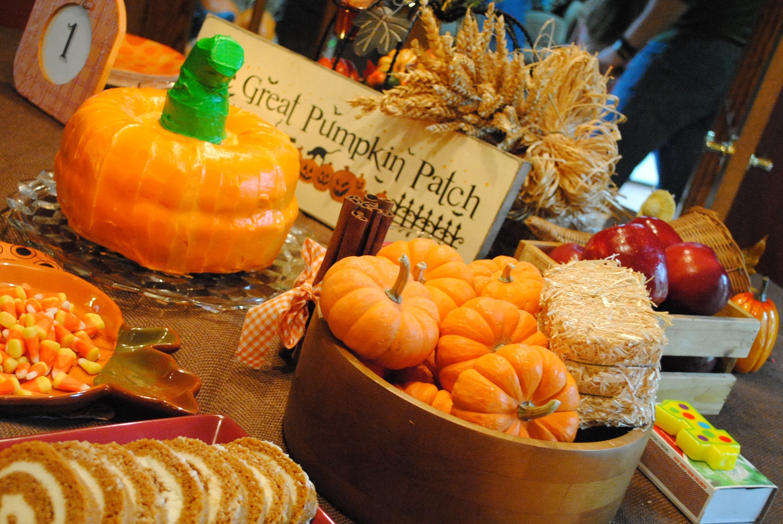 Best ideas about Pumpkin Patch Birthday Party . Save or Pin This Heavenly Life Messy Loud Always Worthwhile Now.
