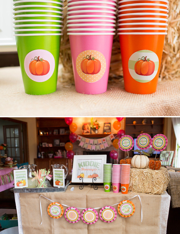 Best ideas about Pumpkin Patch Birthday Party . Save or Pin Adorable Little Pumpkin Birthday Party Fall Harvest Now.