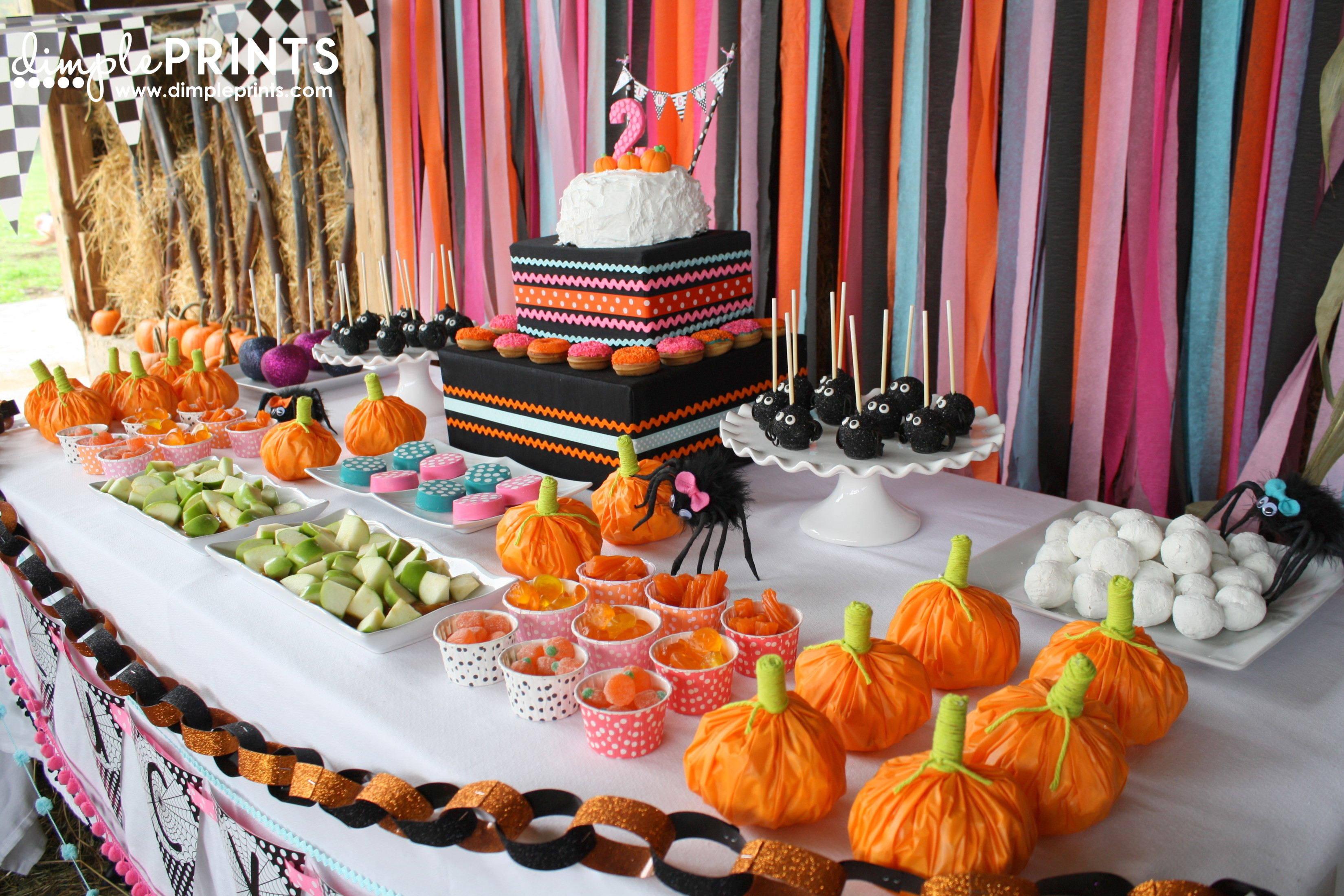 Best ideas about Pumpkin Patch Birthday Party . Save or Pin Itsy Bitsy Spider Birthday Party Dimple Prints Now.