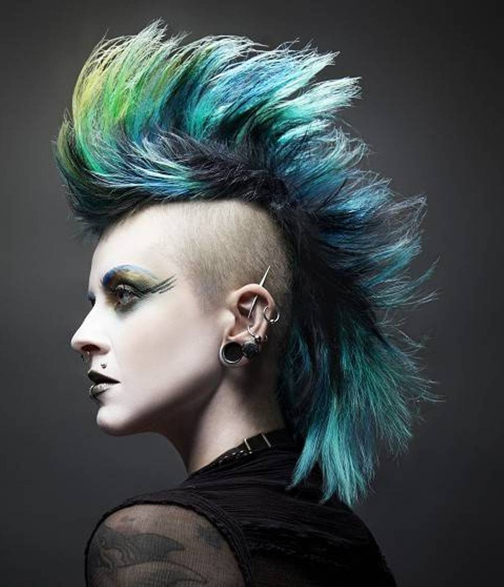 Best ideas about Punk Hairstyles Female . Save or Pin mens haircuts punk haircuts Now.