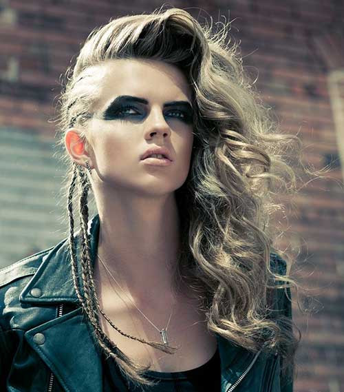 Best ideas about Punk Hairstyles Female . Save or Pin Punk Hairstyles Long Hair Now.