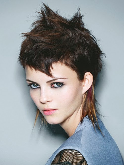 Best ideas about Punk Hairstyles Female . Save or Pin Short Punk Hairstyles for Teenagers Stephig Now.