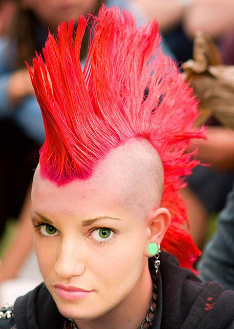 Best ideas about Punk Hairstyles Female . Save or Pin MOHAWK ITS STILL INTRUIGING Now.