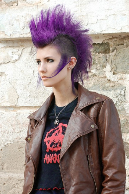 Best ideas about Punk Hairstyles Female . Save or Pin Punk Hairstyles for Women Stylish Punk Hair s Now.