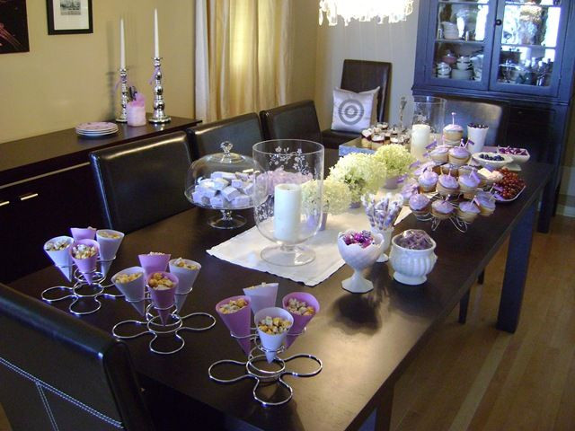Best ideas about Purple And Silver Birthday Decorations . Save or Pin 30 best images about Ideas for Mom 75th Birthday Now.