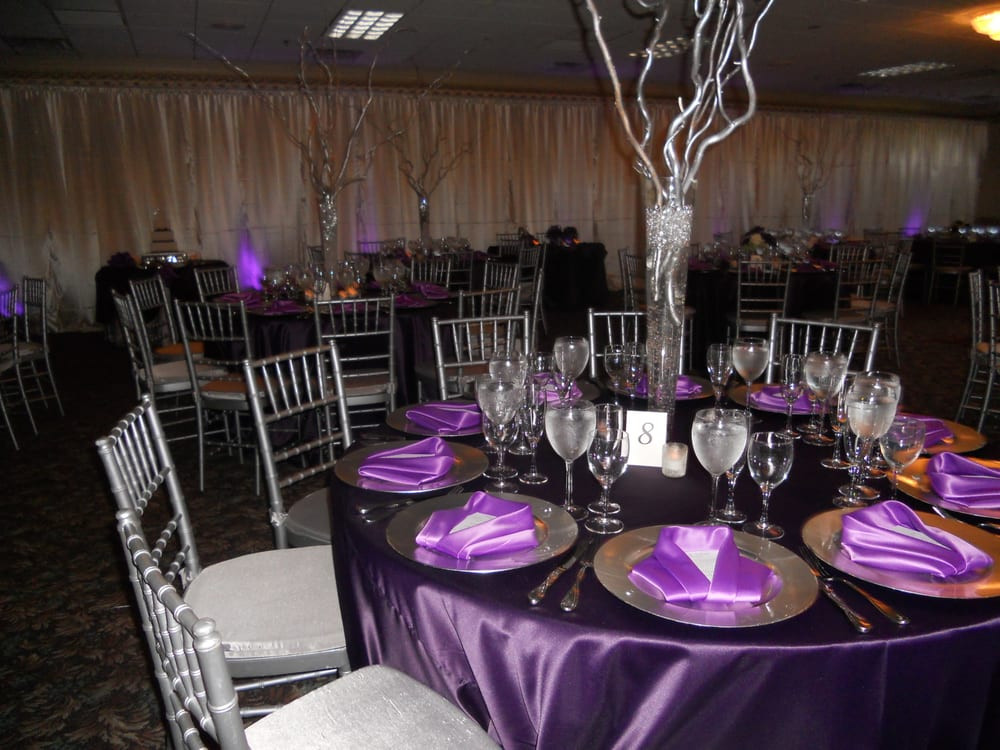 Best ideas about Purple And Silver Birthday Decorations . Save or Pin A lovely purple and silver 50th birthday party Yelp Now.