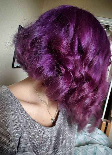 Best ideas about Purple Bob Hairstyles . Save or Pin 20 Natural Curly Hairstyles Now.