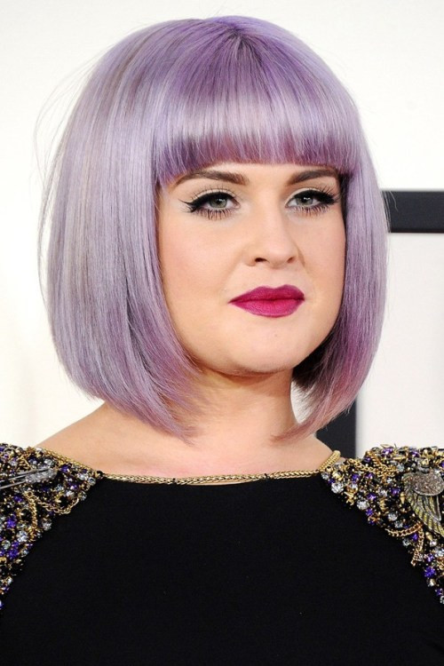 Best ideas about Purple Bob Hairstyles . Save or Pin Hairstyles for Full Round Faces – 55 Best Ideas for Plus Now.