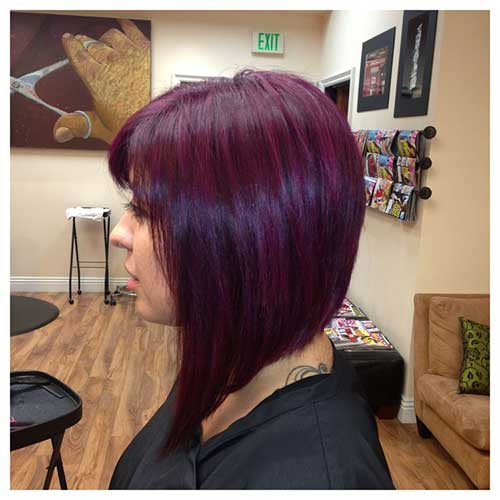 Best ideas about Purple Bob Hairstyles . Save or Pin 25 Short Haircuts and Colors Now.