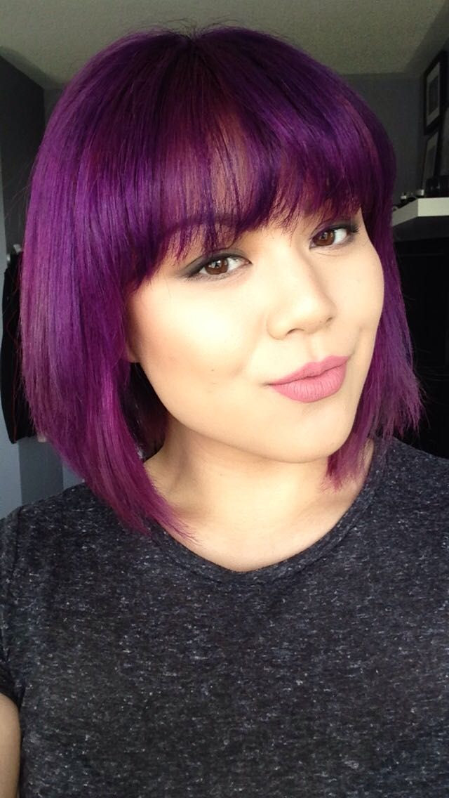 Best ideas about Purple Bob Hairstyles . Save or Pin Best 25 Purple bob ideas on Pinterest Now.