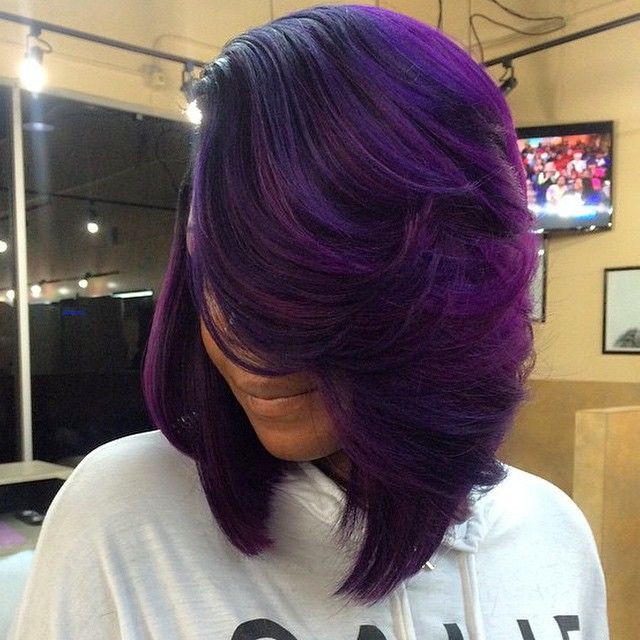 Best ideas about Purple Bob Hairstyles . Save or Pin The 25 best Purple bob ideas on Pinterest Now.