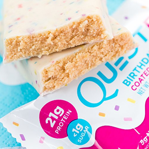 Best ideas about Quest Birthday Cake . Save or Pin Quest Nutrition Protein Bar Birthday Cake 21g Protein Now.