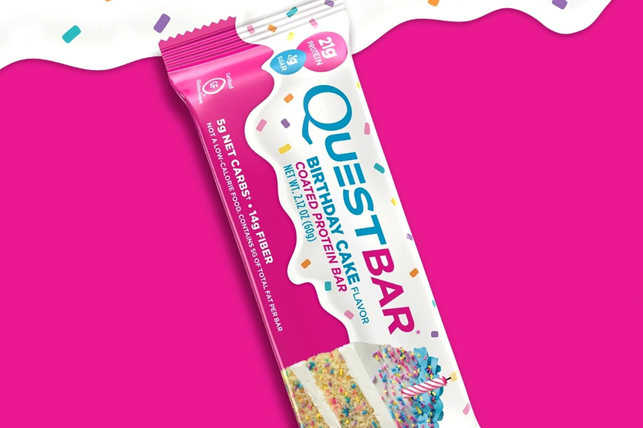 Best ideas about Quest Birthday Cake . Save or Pin Quest officially launches its new Birthday Cake protein bar Now.