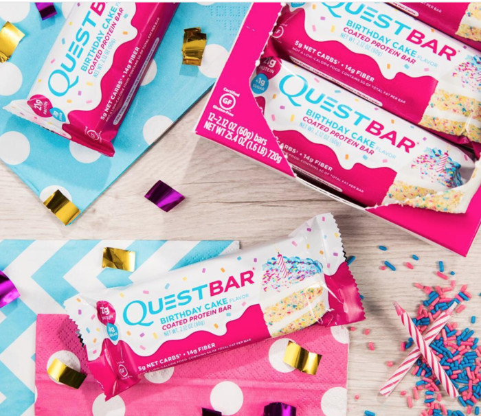 Best ideas about Quest Birthday Cake . Save or Pin The New Birthday Cake Quest Bar is Absolutely Delicious Now.