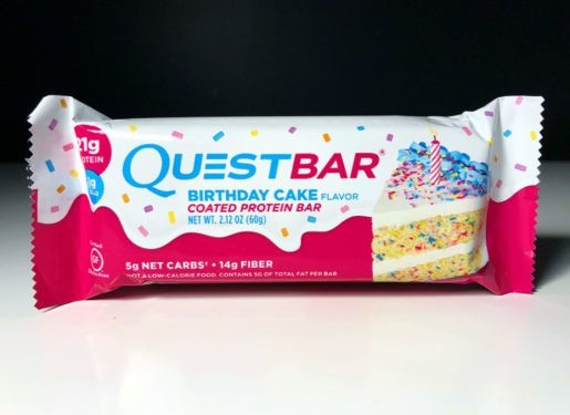 Best ideas about Quest Birthday Cake . Save or Pin REVIEW Birthday Cake Quest Bar Junk Banter Now.