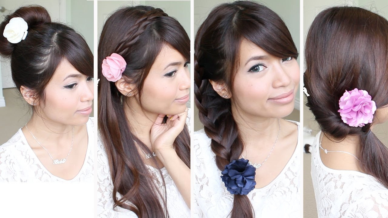 Best ideas about Quick And Easy Hairstyle For School . Save or Pin Quick & Easy Back to School Hairstyles for Medium Long Now.