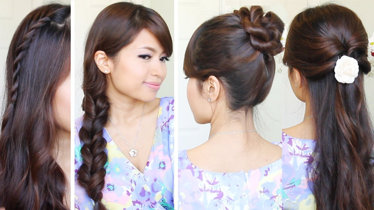 Best ideas about Quick And Easy Hairstyle For School . Save or Pin Quick & Easy Back to School Hairstyles Now.