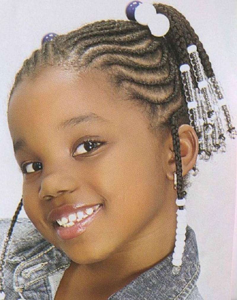 Best ideas about Quick Hairstyles For Black Girls . Save or Pin 64 Cool Braided Hairstyles for Little Black Girls – HAIRSTYLES Now.