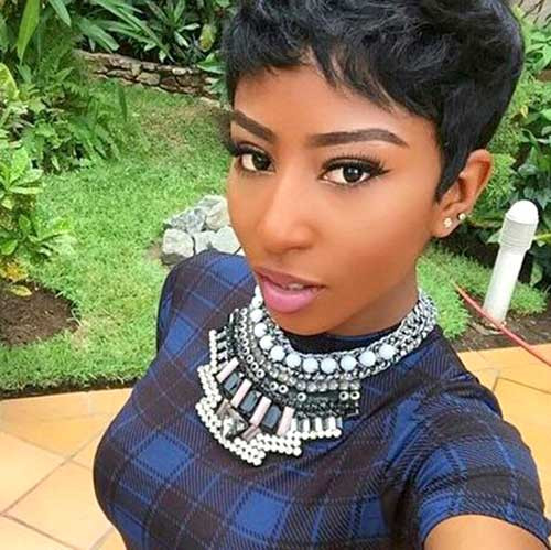 Best ideas about Quick Hairstyles For Black Girls . Save or Pin 15 Black Girls with Short Hair Now.