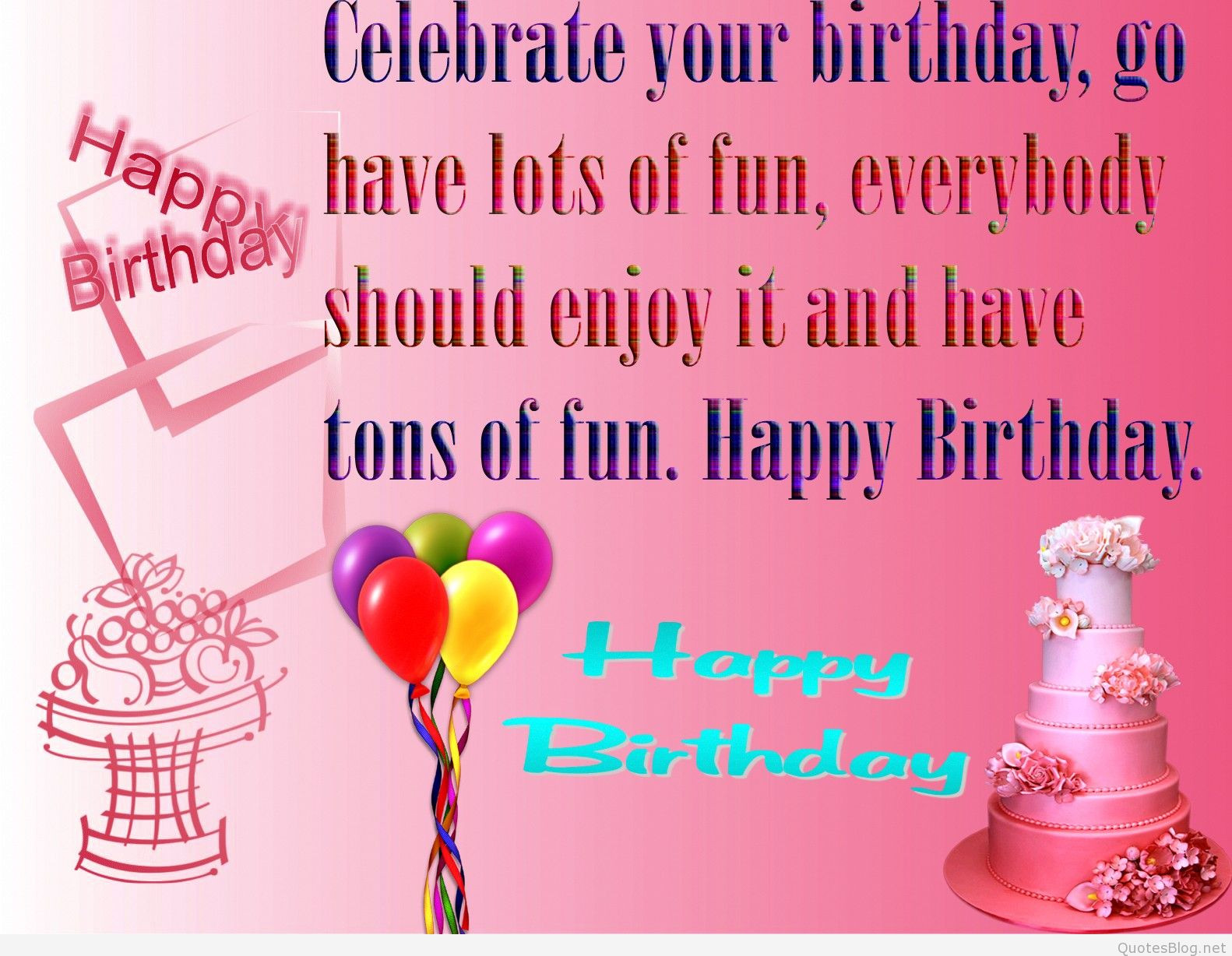Best ideas about Quotation Birthday Wishes . Save or Pin birthday quotes images Now.