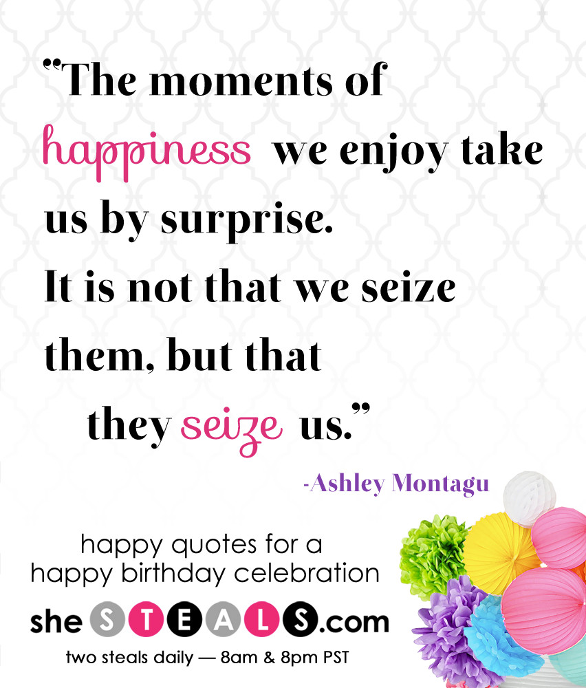 Best ideas about Quote For Happy Birthday . Save or Pin Happy Birthday Week Quotes QuotesGram Now.