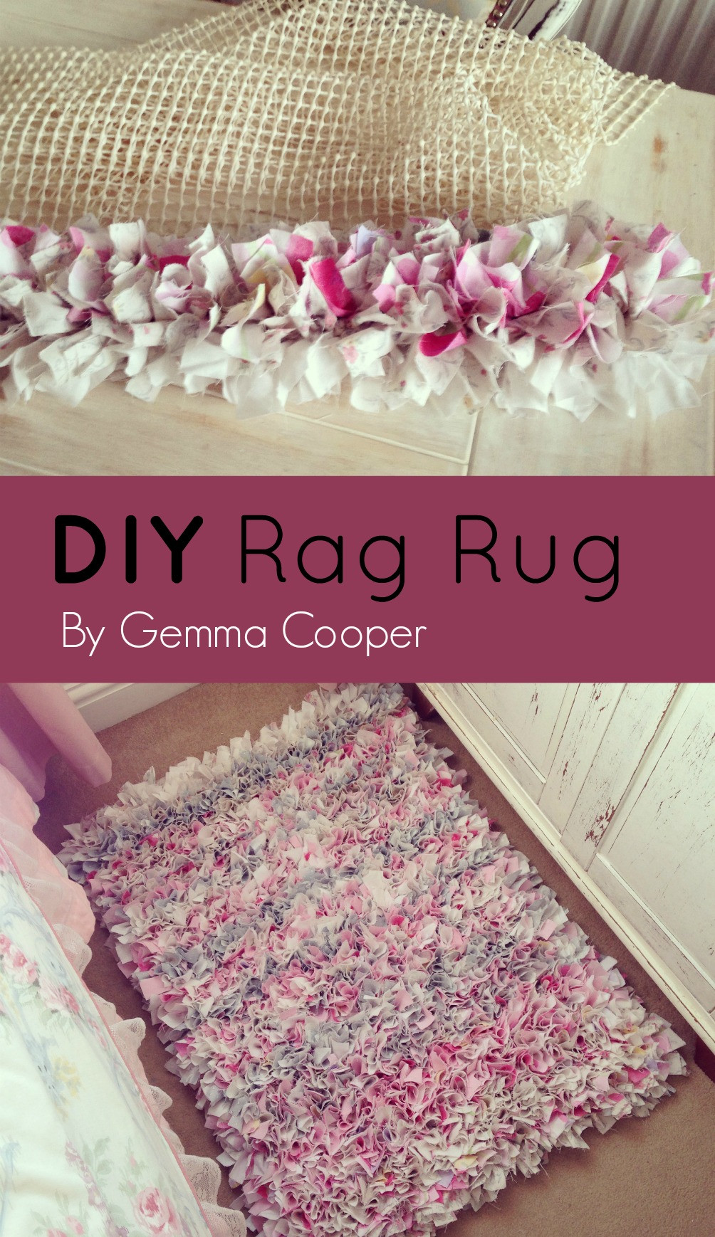 Best ideas about Rag Rug DIY . Save or Pin DIY RAG RUG Now.