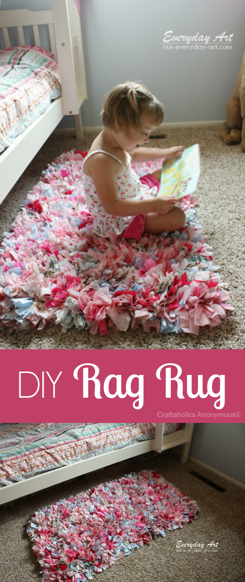 Best ideas about Rag Rug DIY . Save or Pin 40 Sweet and Fun DIY Nursery Decor Design Ideas Now.