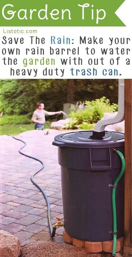 Best ideas about Rain Barrel DIY . Save or Pin 21 Truly Genius Gardening Tips and Ideas Spaceships and Now.