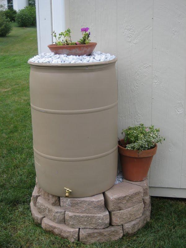 Best ideas about Rain Barrel DIY . Save or Pin DIY A Texas Sized Rain Barrel Now.
