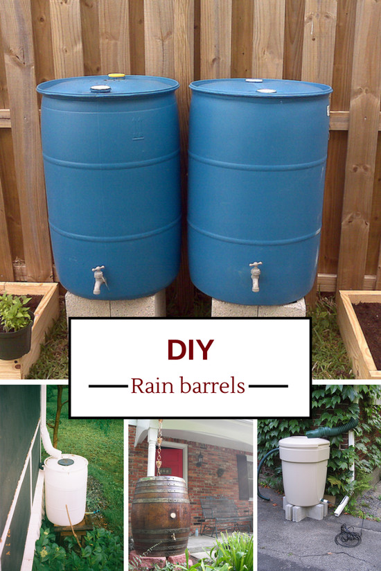 Best ideas about Rain Barrel DIY . Save or Pin 10 Easy Ways to Build Your Own Rain Barrel Now.