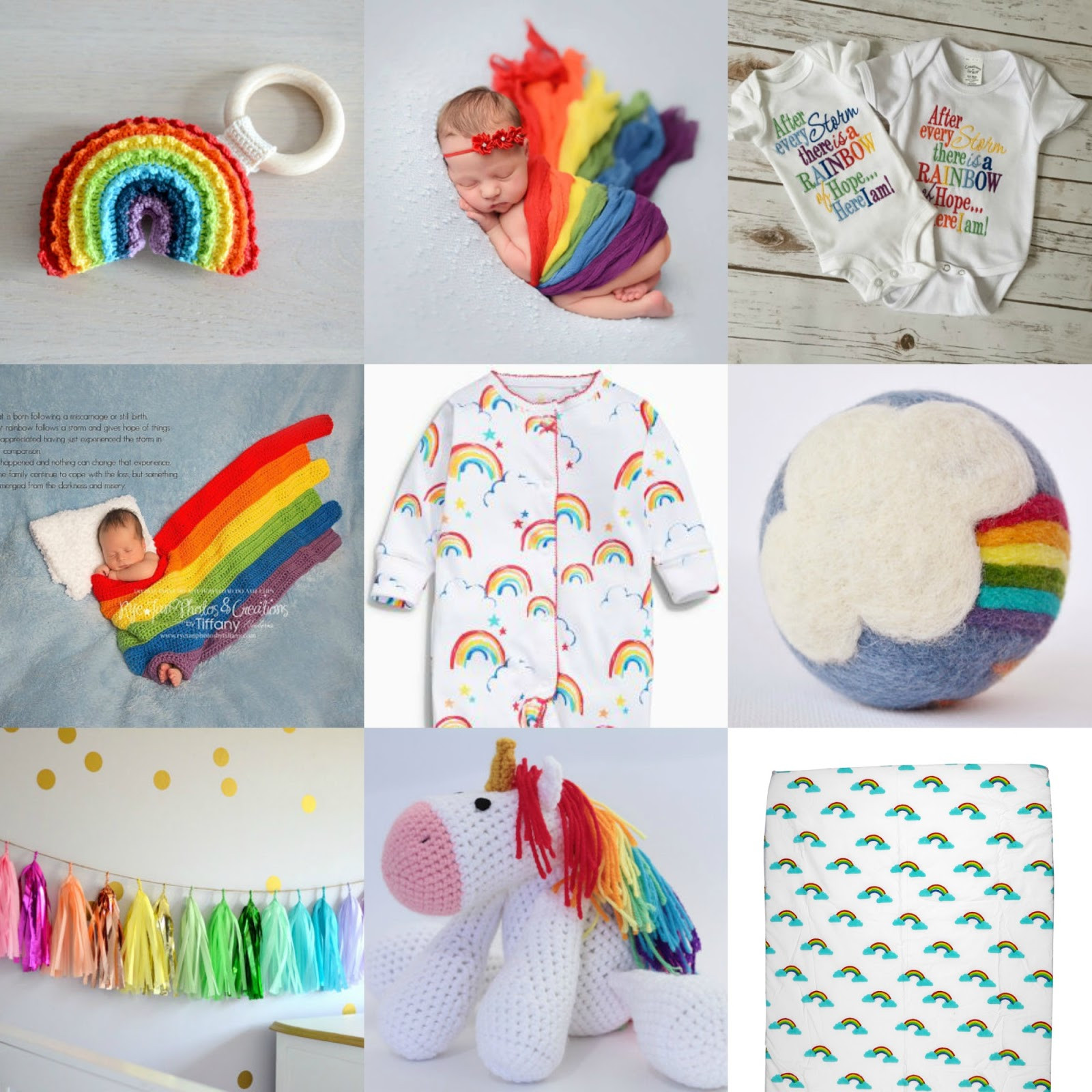 Best ideas about Rainbow Baby Gift Ideas . Save or Pin Gift Ideas For A Rainbow Baby ♥ Now.