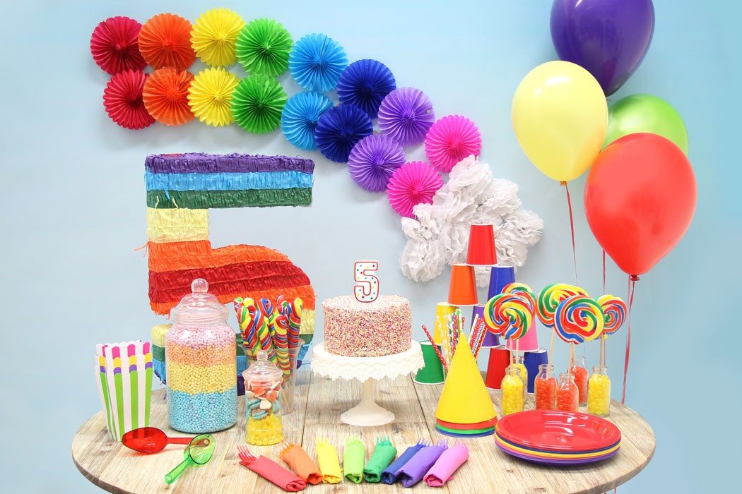 Best ideas about Rainbow Birthday Decorations . Save or Pin Rainbow Party Ideas Now.