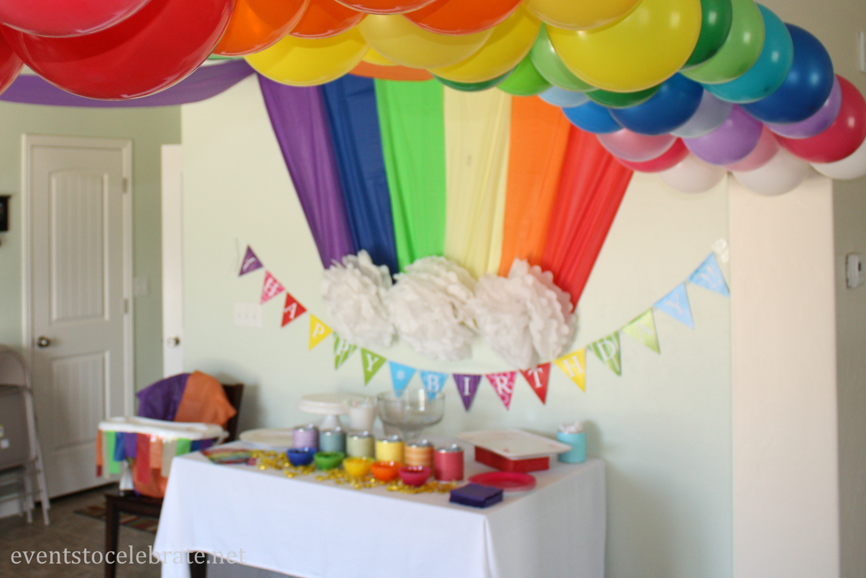 Best ideas about Rainbow Birthday Decorations . Save or Pin Rainbow Archives events to CELEBRATE Now.