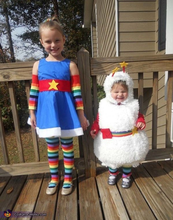Best ideas about Rainbow Brite Costume DIY . Save or Pin 57 Fierce Halloween Costumes For Girls Who Rock Now.