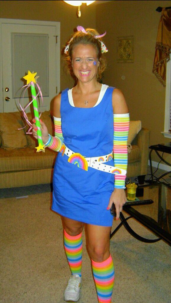 Best ideas about Rainbow Brite Costume DIY . Save or Pin DIY Rainbow Brite costume Now.
