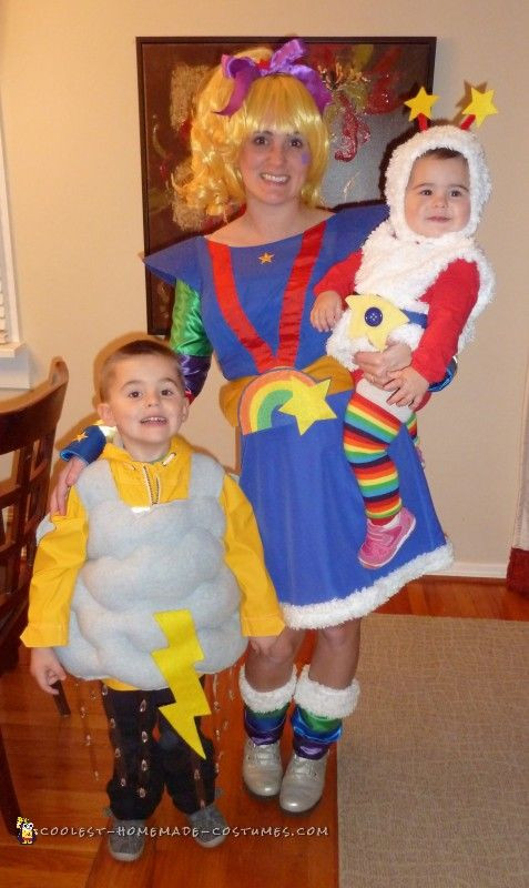 Best ideas about Rainbow Brite Costume DIY . Save or Pin 162 best Family Group Halloween Costumes images on Pinterest Now.