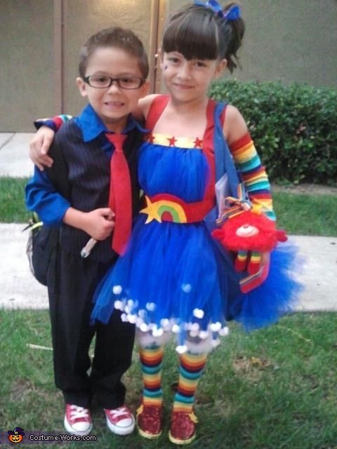 Best ideas about Rainbow Brite Costume DIY . Save or Pin The Tenth Doctor And Rainbow Brite Costume Now.