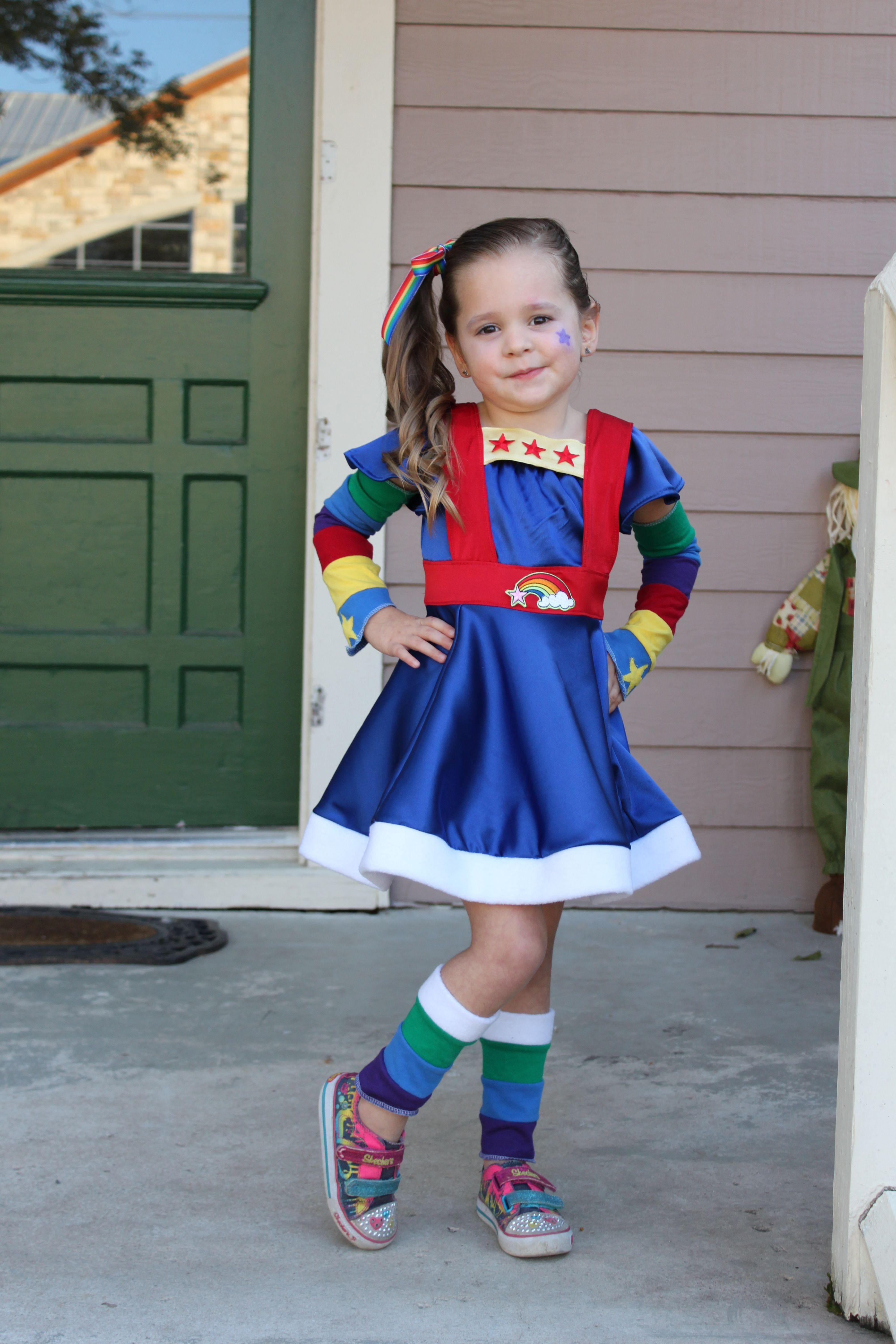 Best ideas about Rainbow Brite Costume DIY . Save or Pin SUPER cute Rainbow brite costume Now.