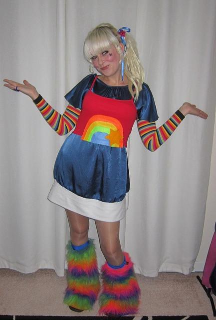 Best ideas about Rainbow Brite Costume DIY . Save or Pin Rainbow Brite costume Rainbow Brite Pinterest Now.